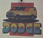 dodge van vintage t-shirt iron-on