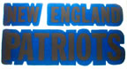 new england patiots vintage t-shirt iron-on