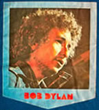 bob dylan vintage t-shirt iron-on