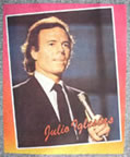 julio iglesias vintage t-shirt iron-on