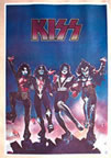 kiss destroyer vintage 1970's t-shirt iron-on