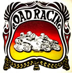 road racing motorcycle rat's hole vintage 1970's t-shirt iron-on