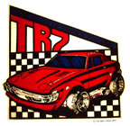 triumph tr-7 car vintage t-shirt iron-on