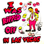 i was ripped off in las vegas vintage t-shirt iron-on transfer 1970's