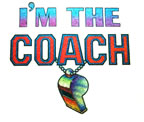 i'm the coach vintage t-shirt iron-on