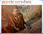 stevie wonder talking book vintage 1970's t-shirt iron-on