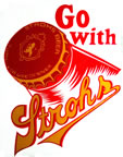 go with strohs t-shirt iron-on