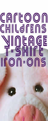 Cartoon Childrens Vintage T-Shirt Iron-Ons