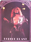 led zeppelin robert plant vintage 1970's t-shirt iron-on
